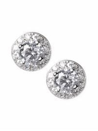 Cubic Zirconia Vintage Post Earring