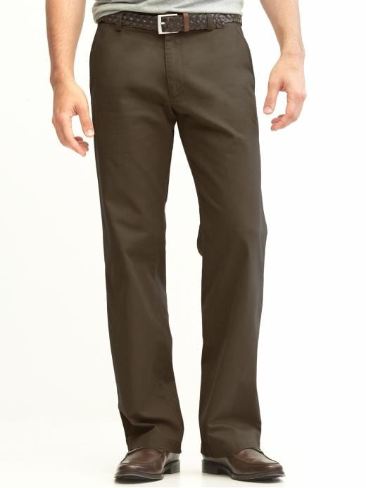 Banana Republic New Straight Gavin Fit Chino - Charleston brown - Banana Republic Canada