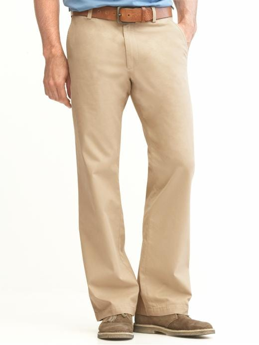 Banana Republic New Straight Gavin Fit Chino - Khaki - Banana Republic Canada