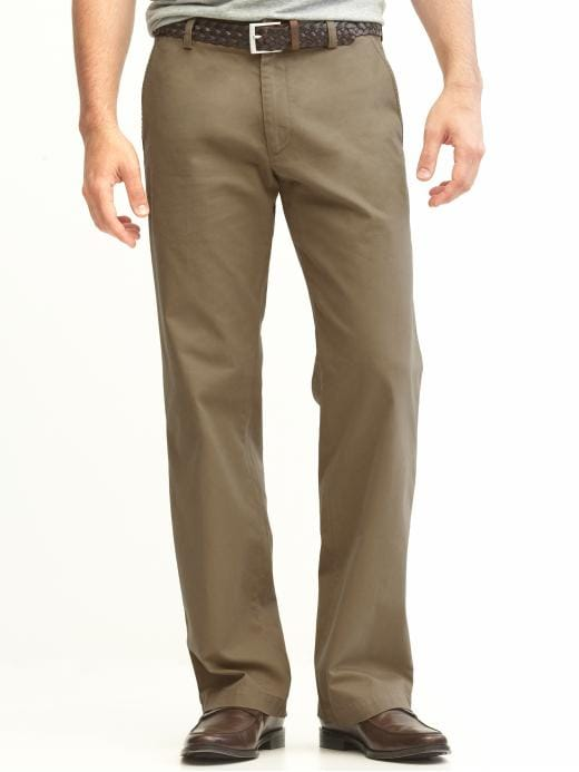 Banana Republic New Straight Gavin Fit Chino - Moose brown - Banana Republic Canada