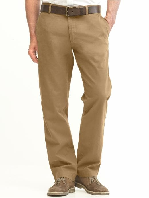 Banana Republic New Relaxed Dawson Fit Chino - Acorn - Banana Republic Canada