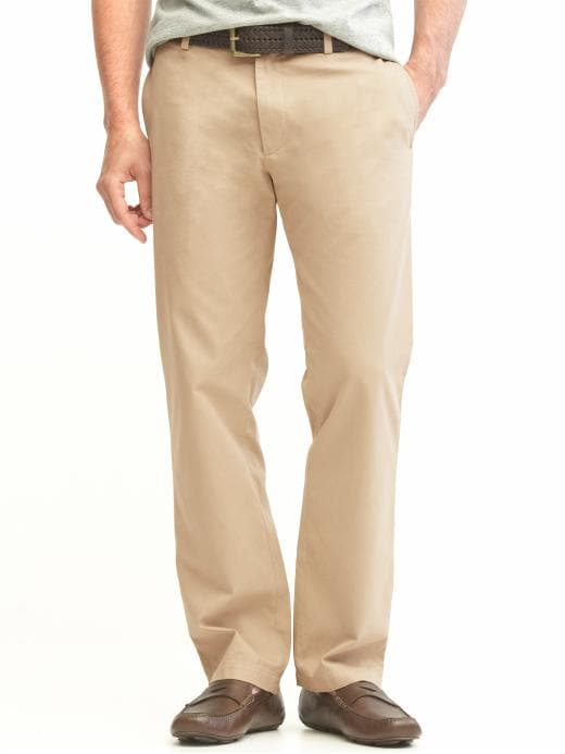 Banana Republic New Relaxed Dawson Fit Chino - Khaki - Banana Republic Canada