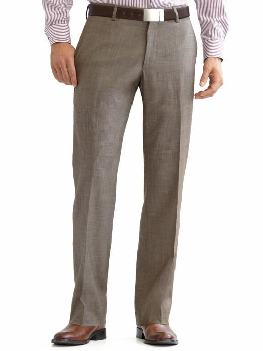 Banana Republic Classic Fit Taupe Pant - Taupe - Banana Republic Canada