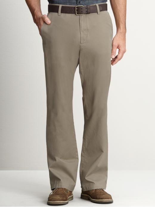 Banana Republic Boot-Cut Chino - Moose brown - Banana Republic Canada