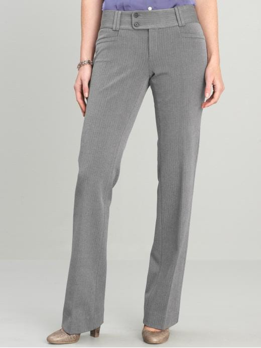 Banana Republic Sloan Fit Herringbone Flare