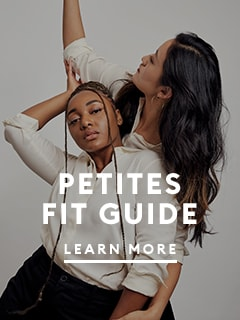 Petites fit guide. image