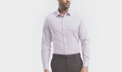 Slim fit dress shirts