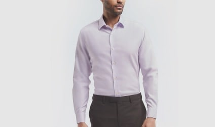 Slim fit dress shirts. background image.