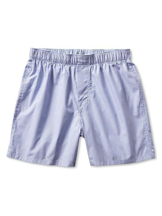Banana Republic Blue Micro Stripe Boxer - Light blue - Banana Republic Canada