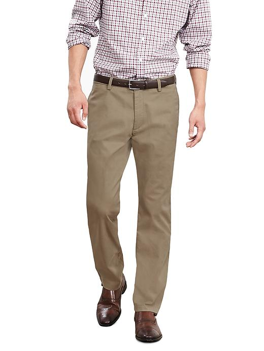 Banana Republic New Straight Gavin Fit Chino - Acorn - Banana Republic Canada