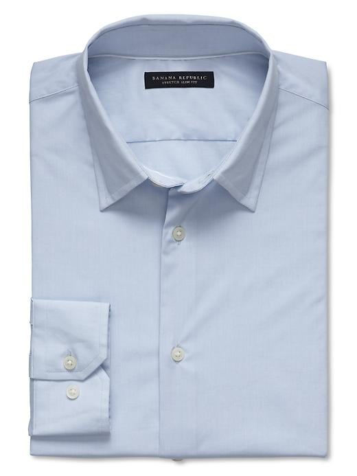 Banana Republic Slim Fit Stretch Dress Shirt - Sky blue - Banana Republic Canada