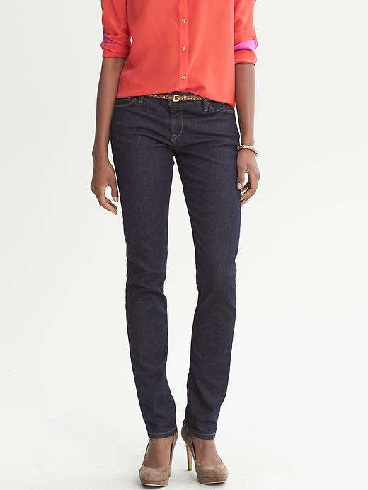 Banana Republic Dark Wash Skinny Jean - Light indigo - Banana Republic Canada