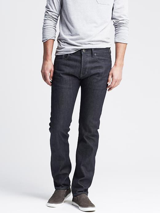Banana Republic Premium Slim Fit Jean - Indigo - Banana Republic Canada