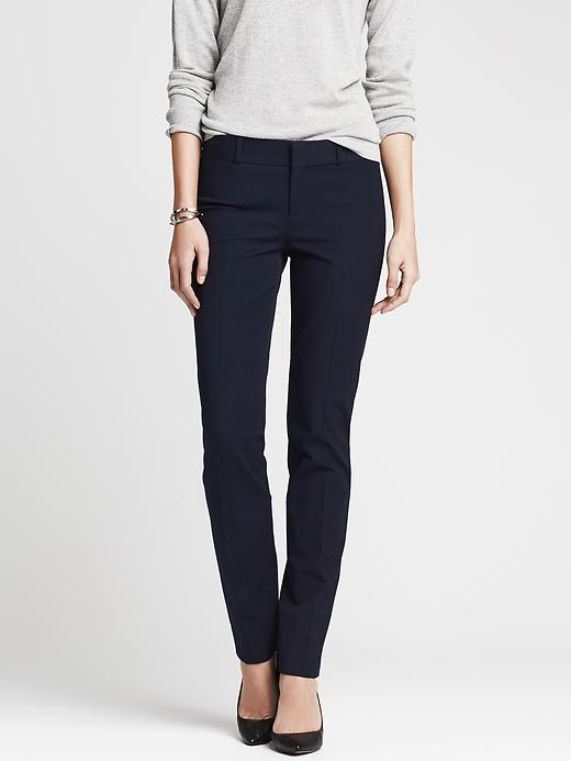 Banana Republic Sloan Fit Slim Ankle Pant - True navy - Banana Republic Canada