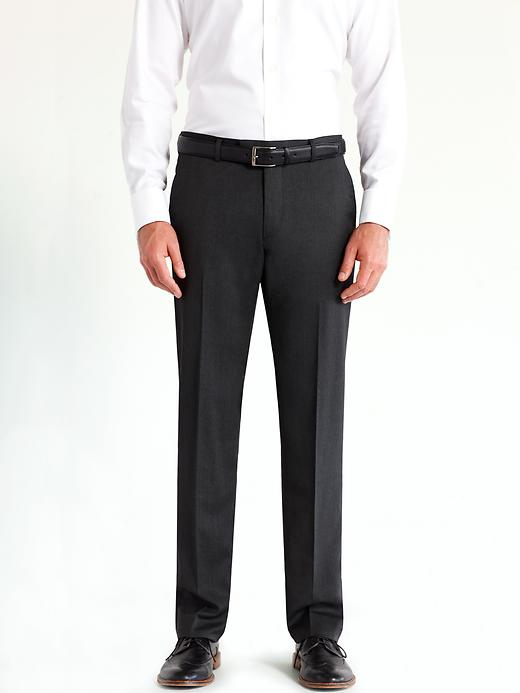 Banana Republic Tailored Charcoal Italian Wool Suit Pant - Charcoal - Banana Republic Canada