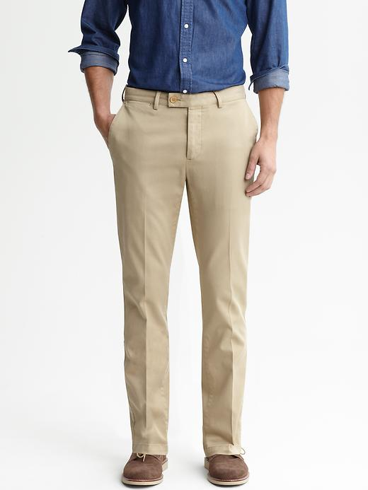 Banana Republic Heritage Slim Fit Chino - Graham cracker - Banana Republic Canada