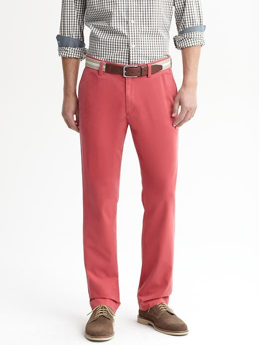 Banana Republic Emerson Vintage Straight Chino - Nantucket red - Banana Republic Canada