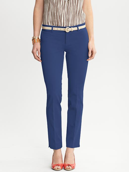Banana Republic Sloan Fit Slim Ankle Pant - Mythic blue - Banana Republic Canada