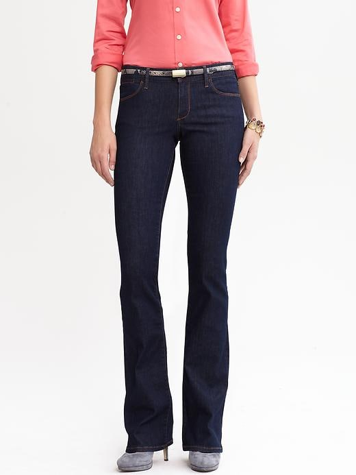 Banana Republic Indigo Boot Cut Jean - Indigo - Banana Republic Canada