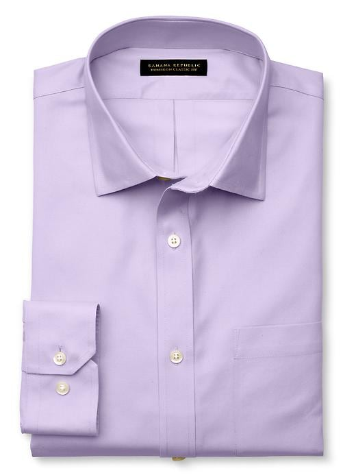 Banana Republic Classic Fit Non-Iron Shirt - Soft lilac - Banana Republic Canada