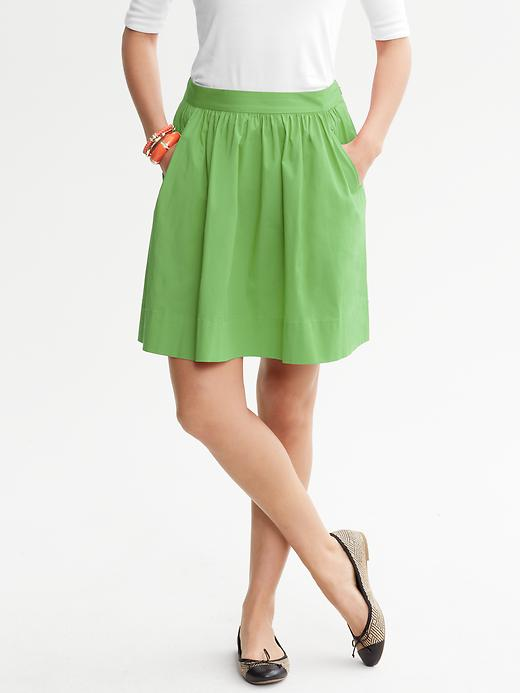 Banana Republic Circle Skirt - Merry green - Banana Republic Canada