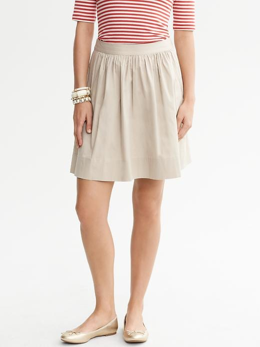 Banana Republic Circle Skirt - New khaki - Banana Republic Canada