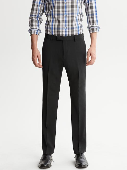 Banana Republic Tailored Black Italian Wool Suit Pant - Black - Banana Republic Canada