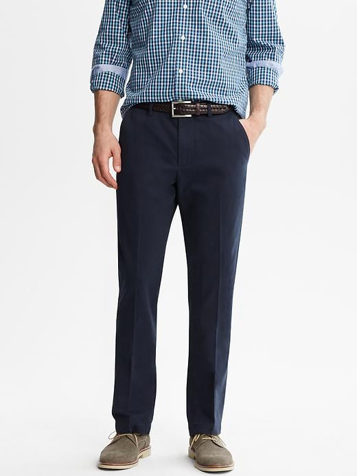 Banana Republic Vintage Straight Chino - True navy - Banana Republic Canada