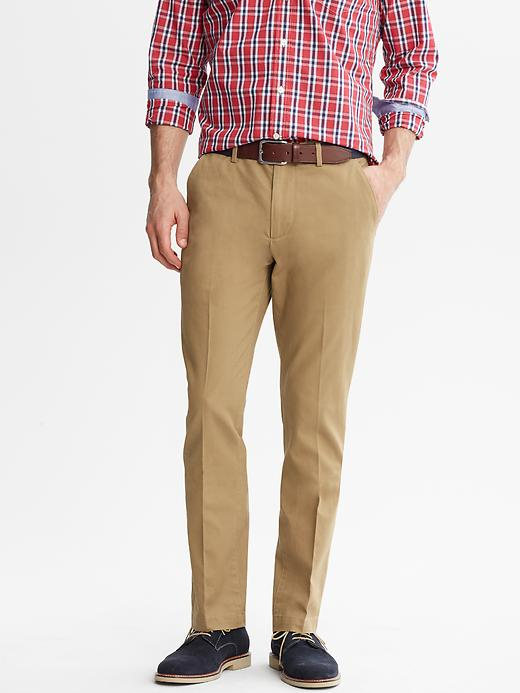 Banana Republic Vintage Straight Chino - Whiskey - Banana Republic Canada