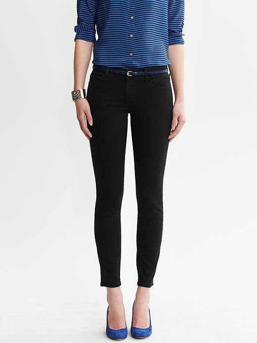Banana Republic Black Skinny Ankle Jean - Black - Banana Republic Canada