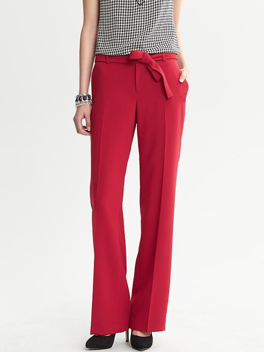 Banana Republic Belted Wide Leg Pant - Lasalle red - Banana Republic Canada