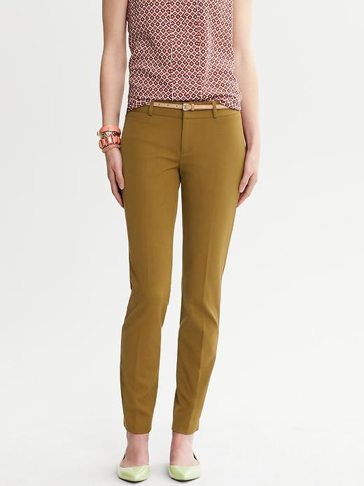 Banana Republic Sloan Fit Slim Ankle Pant - Butternut wood 690 - Banana Republic Canada