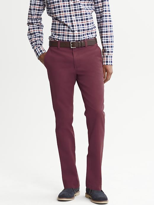 Banana Republic Aiden Slim Fit Chino - Sonoma wine - Banana Republic Canada