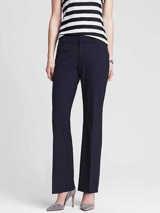 Banana Republic Jackson Fit Navy Lightweight Wool Trouser - Navy - Banana Republic Canada