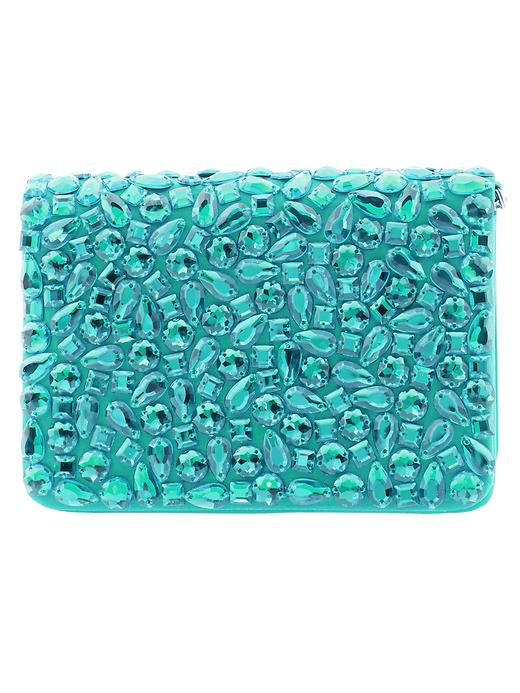 Banana Republic Annie Beaded Crossbody - Emerald green - Banana Republic Canada