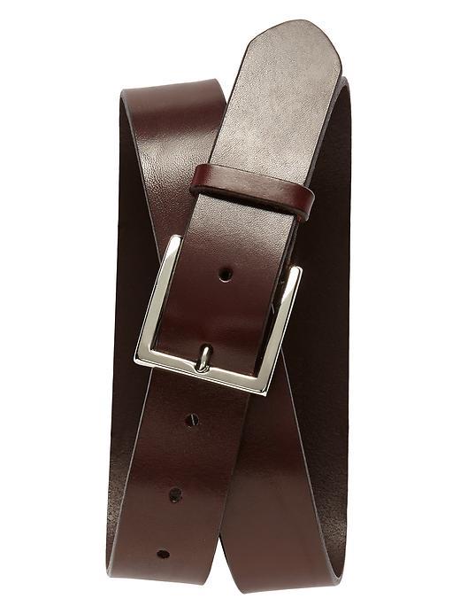 Banana Republic Leather Modern Belt - Brown - Banana Republic Canada