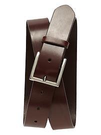 Leather Modern Belt
