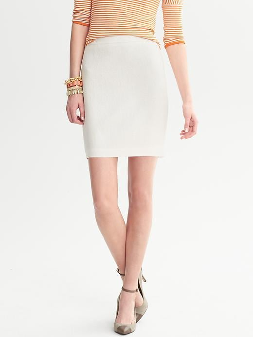 Banana Republic Boucle Zip Pencil Skirt - Cocoon - Banana Republic Canada