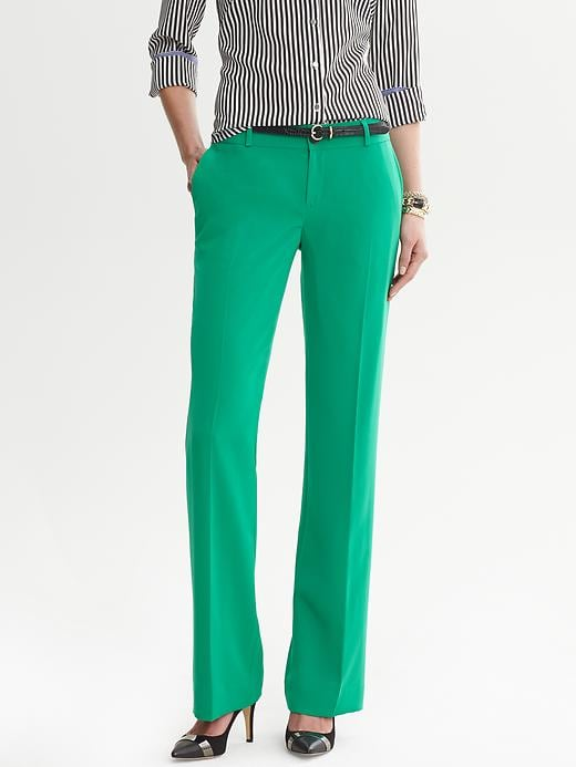 Banana Republic Martin Fit Jade Trouser - Brilliant jade - Banana Republic Canada