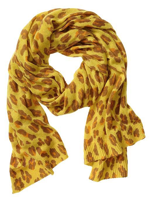 Banana Republic Leopard Scarf - Sun glow - Banana Republic Canada