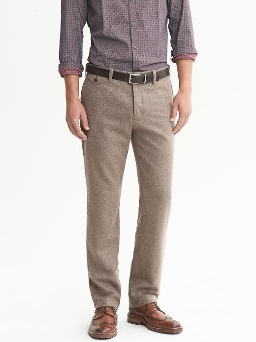 Banana Republic Heritage Flannel Pant - Taupe gray - Banana Republic Canada