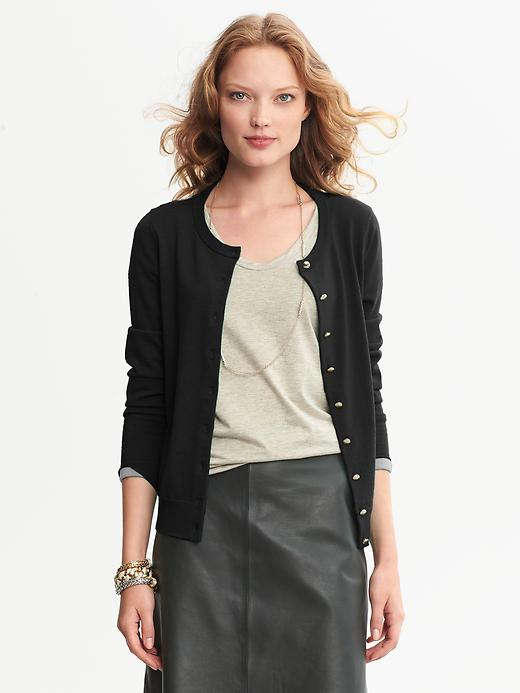 Banana Republic Anna Cardigan - Black - Banana Republic Canada