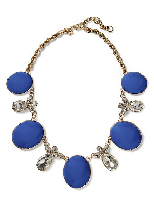 Banana Republic Starlet Necklace - Navy - Banana Republic Canada