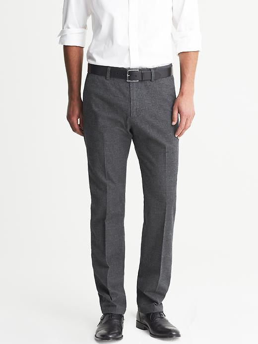 Banana Republic Kentfield Grey Cotton Chino - Dusty grey - Banana Republic Canada