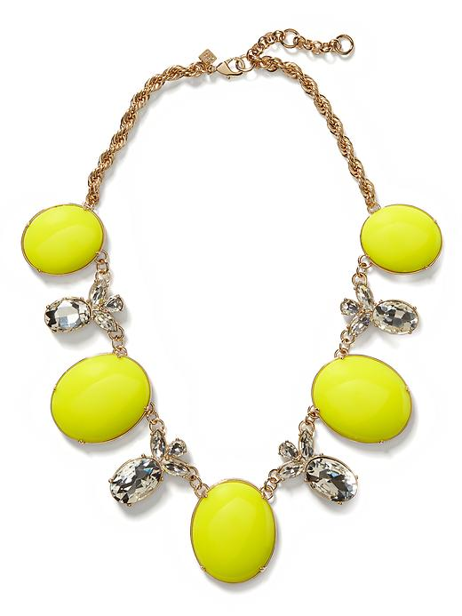Banana Republic Starlet Necklace - Neon green - Banana Republic Canada