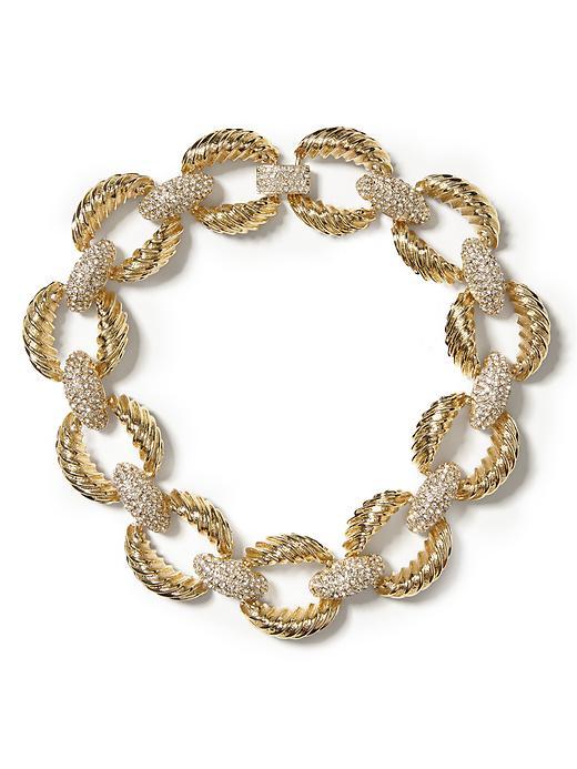 Banana Republic Vintage Link Necklace - Gold - Banana Republic Canada