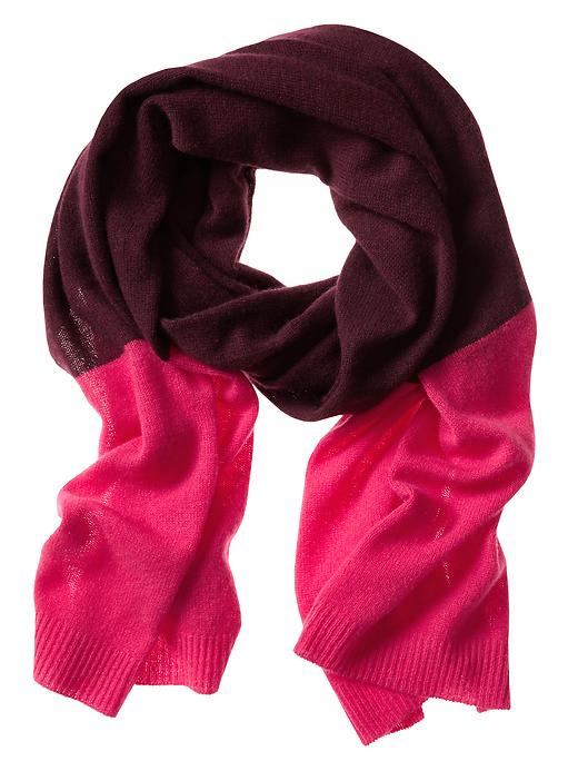 Banana Republic Cashmere Scarf - Raspberry - Banana Republic Canada