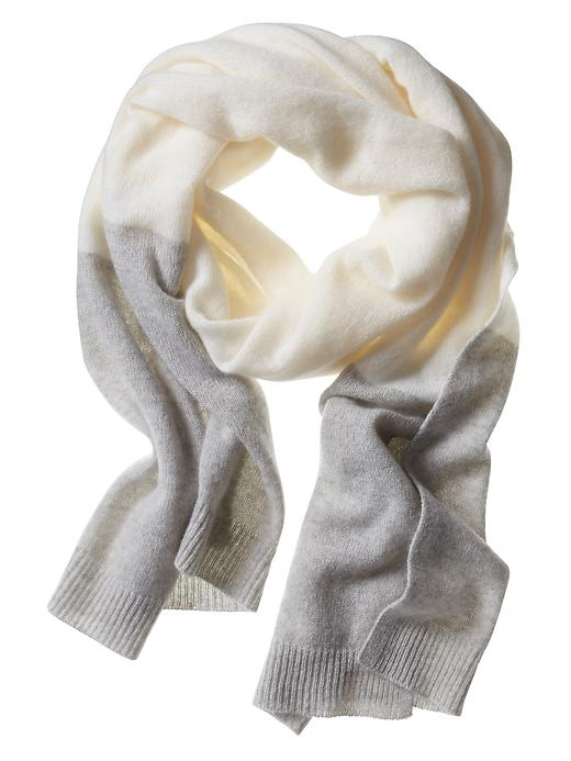 Banana Republic Cashmere Scarf - Light heather grey - Banana Republic Canada
