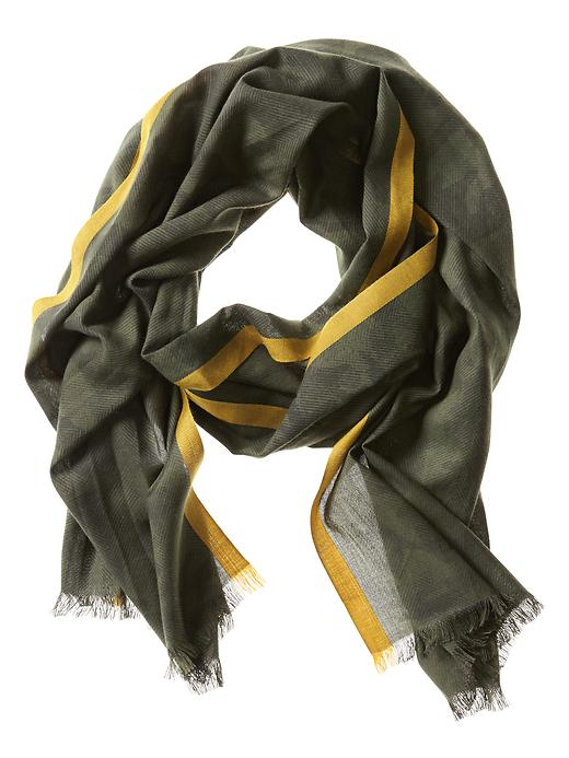 Banana Republic Camo Scarf - Evergreen - Banana Republic Canada