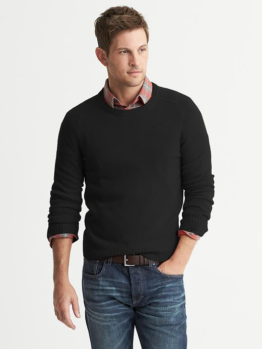 Banana Republic Cashmere Crew - Black - Banana Republic Canada